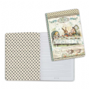 Stamperia - Lined Notebook A5 - Mad Hatter